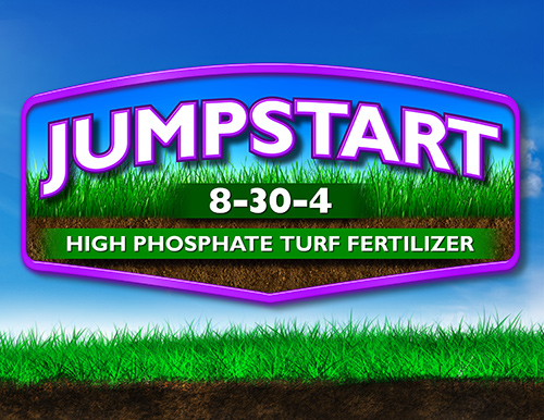 JUMPSTART 8-30-4 High Phosphate Turf Fertilizer