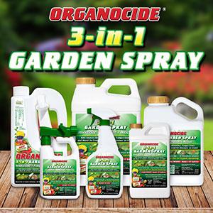 ORGANOCIDE® 3-in-1 GARDEN SPRAY