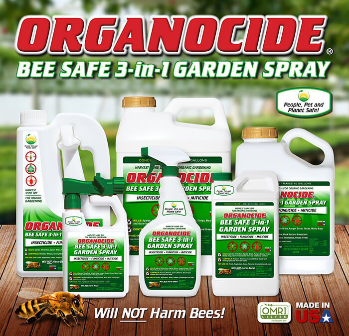 ORGANOCIDE® Bee Safe 3-in-1 GARDEN SPRAY - Your Plant Doctor