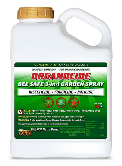 ORGANOCIDE® Bee Safe 3-in-1 1 Gallon Concentrate - Your Plant Doctor
