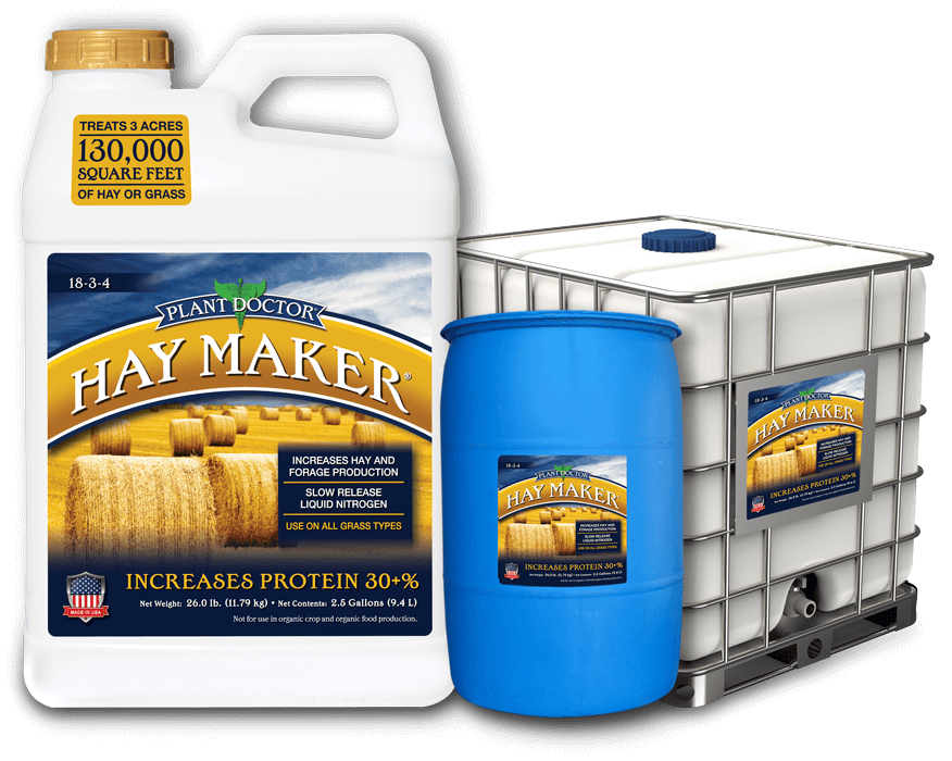 three sizes of plant doctor haymaker product